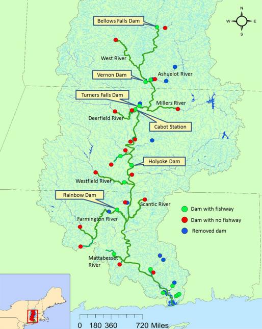CT river dams
